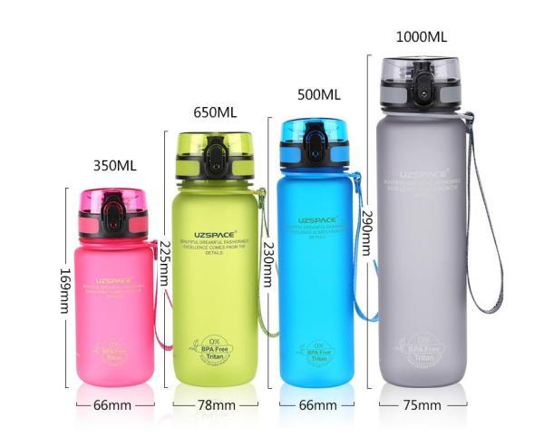 Sports Water Bottle BPA Free - Water Bottle - Only Fit Gear