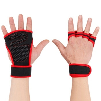 Gym and Fitness Gloves with Grips