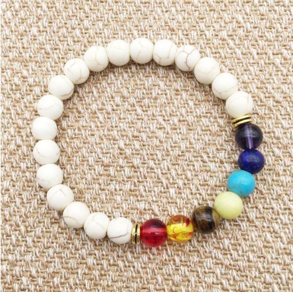 Yoga Reiki Prayer Stone Bracelet