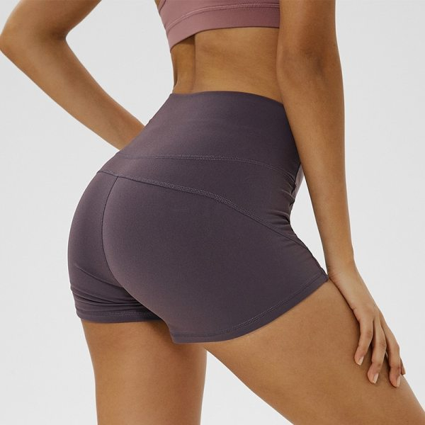 Yoga and Fitness Seamless High Waisted Shorts