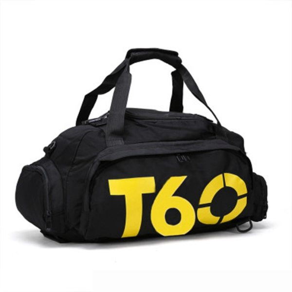Gym Bag with Separate Space For Shoes