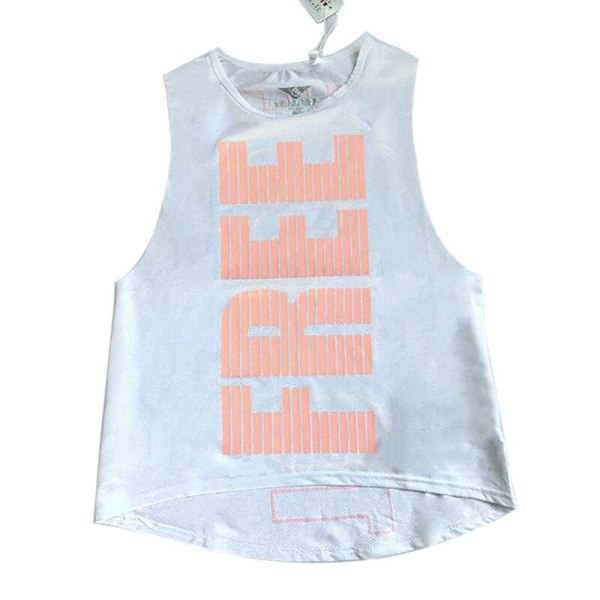 Quick-Dry Printed Breathable Yoga and Fitness Top