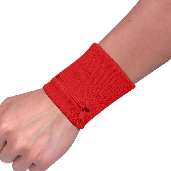Wrist Wallet Pouch Band Zipper for running