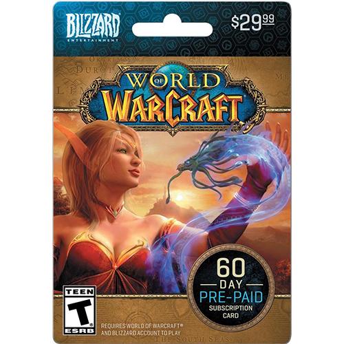 Blizzard Wow prepaid