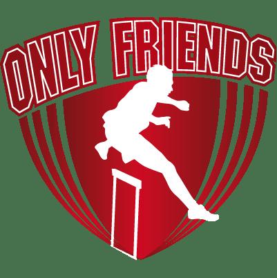 Logo Only Friends Atletiek
