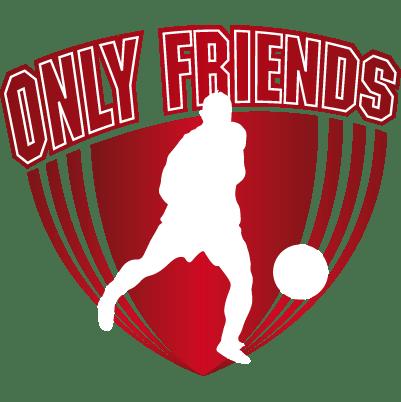 Logo Only Friends Zaalvoetbal