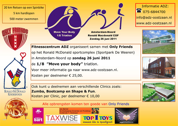 Poster Schoute Triatlon
