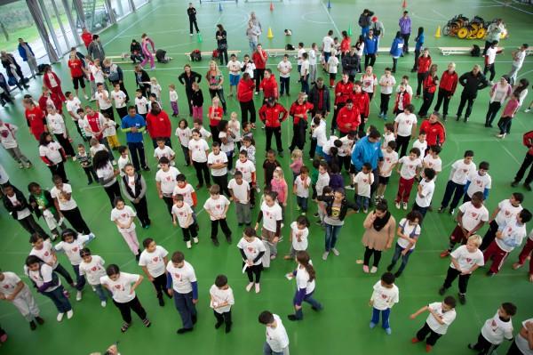 Groepsfoto Move Day 2011