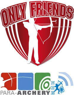 Logo Handboogschieten en Para Archery NHB