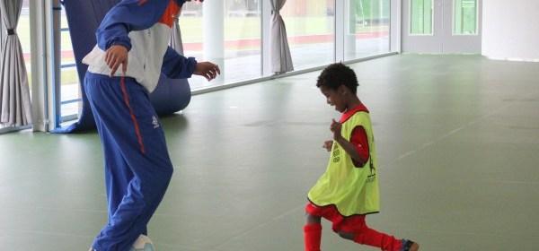 Zaalvoetbal zondag 22 april 2012