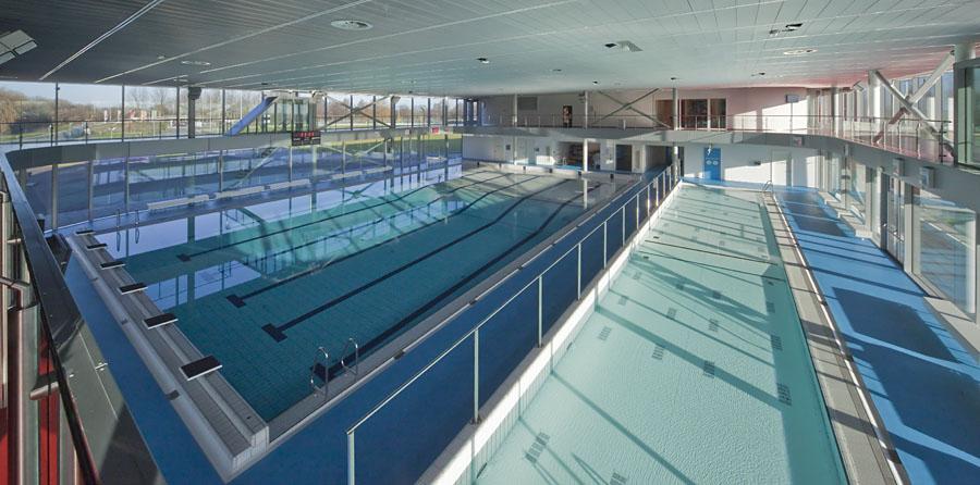 zwemmen in het Centre
