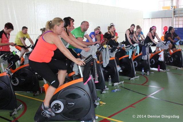 The Crunch spinningmarathon 2014