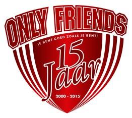 LOGO OnlyFriends 15 jaar