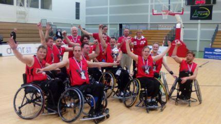 Bekerfinale rolstoelbasketbal
