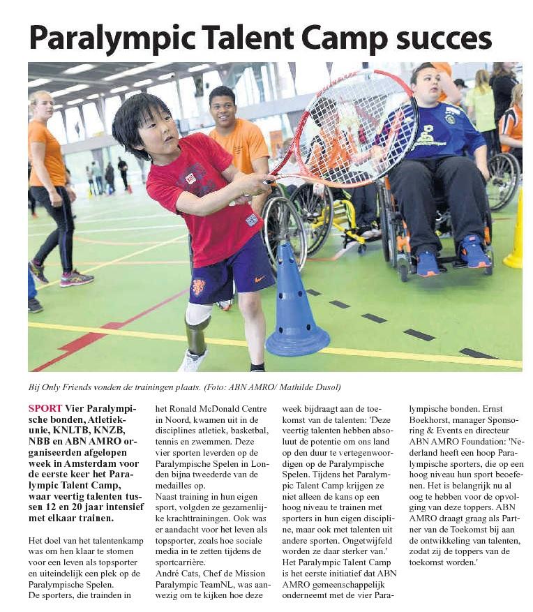 ParalympicTalentCamp