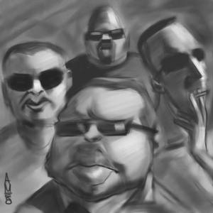 Caricature by Kylegodraw.com