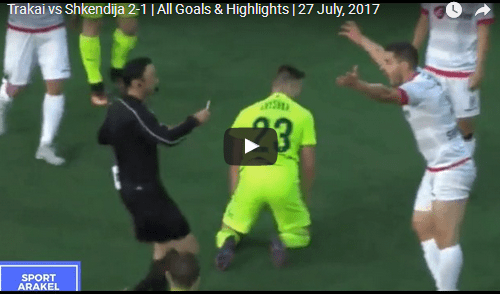 Тракаи 2–1 Шкендија: Безброј шанси, три гола и два црвени картони | 27.07.2017, UEFA Europa League