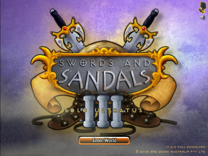 Swords and Sandals 3 - Hacked Arcade Games Only Game Online