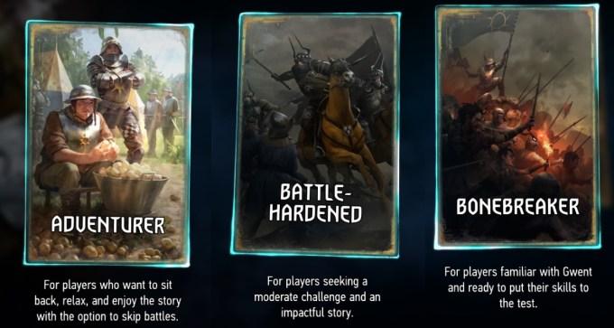 El nivel más accesible permite saltear batallas