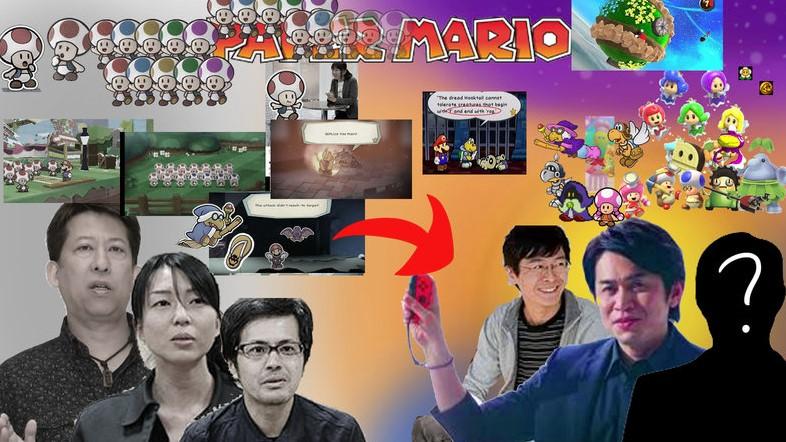 Cambios de equipos de trabajo en Paper Mario