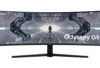 Samsung lanzó el monitor gamer G9 del futuro con pantalla curva 1000R