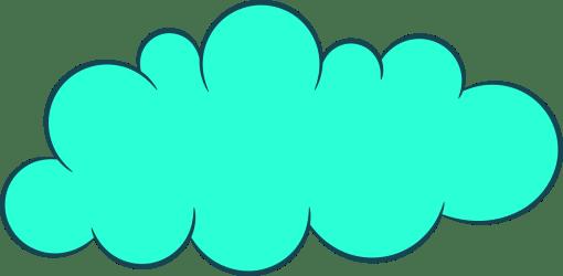 cloud clouds clipart cartoon shape silhouette transparent dream getdrawings onlygfx webstockreview