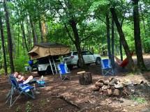 dispersed camping in natural