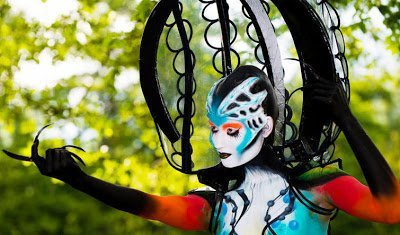 1683471 slide s 1 at the world bodypainting festival painters transform humans into art