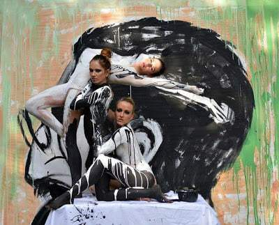 1683471 slide s 9 at the world bodypainting festival painters transform humans into art