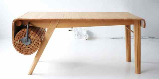 Roll Out table by Marcus Voraa 2