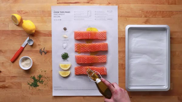 cookable paper