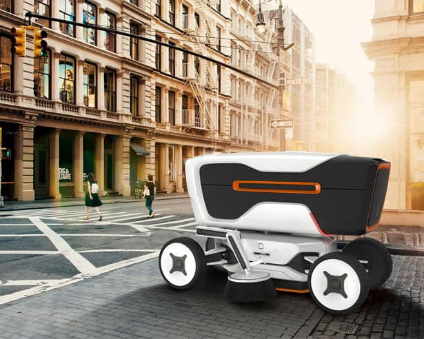 street cleaning robots