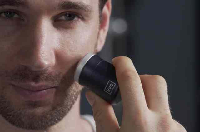 Evo is the world's smallest shaver