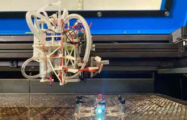 Drones and Robot Printing System