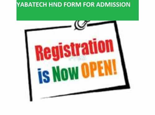 YABATECH HND For 2020/2021 Out For Part-time & Full-Time