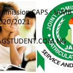 JAMB Admission CAPS : JAMB CAPS 2020/2021 - ACCEPT or REJECT Admission Offer - JAMB ACCEPT or REJECT Admission