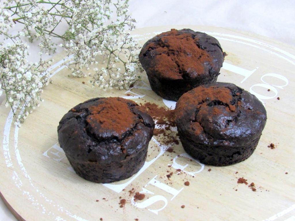 moelleux au chocolat healthy
