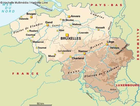 belgique carte - only laurie