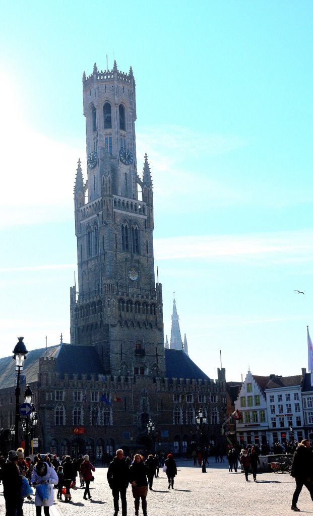 bruges beffroi - only laurie