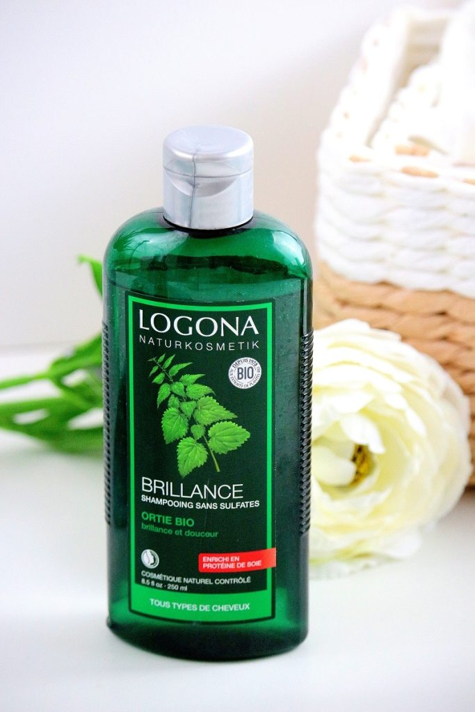 shampooing brillance logona only laurie