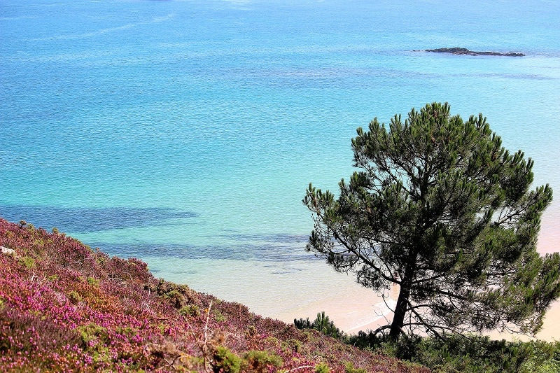 eau turquoise bretagne only laurie