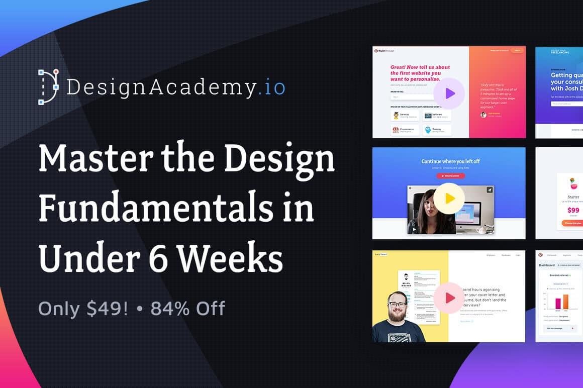 Master The Design Fundamentals In Under 6 Weeks