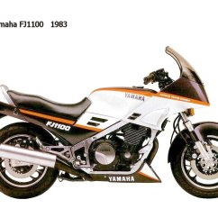 Yamaha Fj1200 Wiring Diagram Headphone With Microphone 1986 Fj 1100 Pics Specs And Information