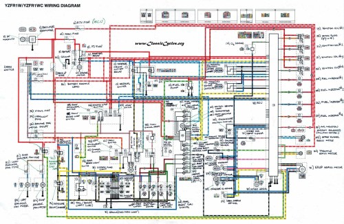 small resolution of yamaha rz350 wiring diagram