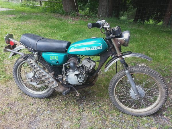 1973 Suzuki 125 Enduro - Year of Clean Water