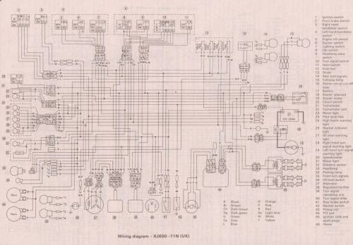 small resolution of xs650 wiring diagram 1983 wiring diagram83 yamaha seca 750 wiring diagram wiring diagram1982 yamaha maxim 750