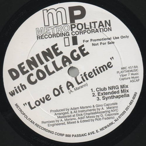 Denine & Collage – Love Of A Lifetime