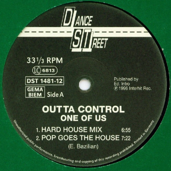 Outta Control – One Of Us