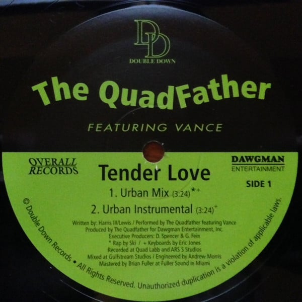 The QuadFather Featuring Vance – Tender Love