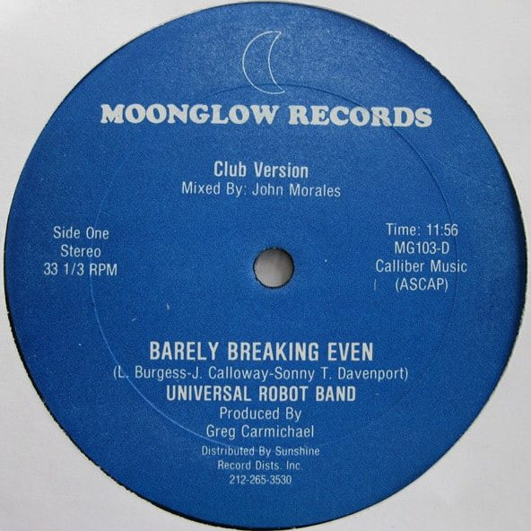 Universal Robot Band – Barely Breaking Even